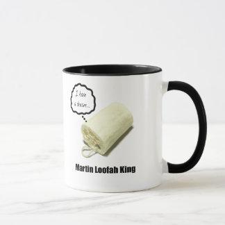 Taza Rey Mug del Loofah de Martin