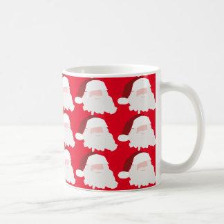 Taza roja del regalo del navidad de Papá Noel