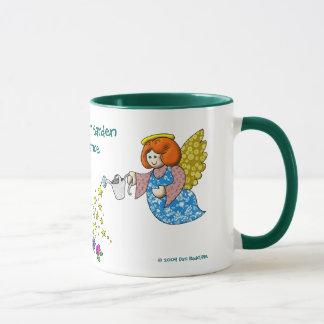 Taza Salga del sitio en su jardín para los ángeles a la