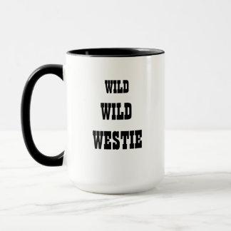 Taza salvaje salvaje de Westie