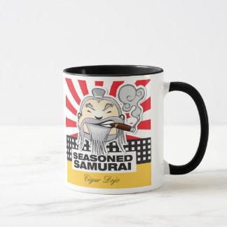 Taza Samurai sazonado
