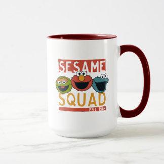 Taza Sesame Street - pelotón del sésamo