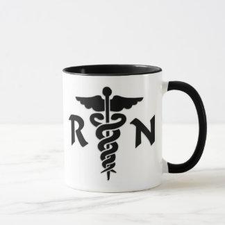 Taza Símbolo médico del RN
