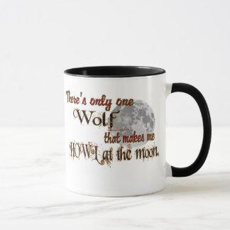 Taza Solamente un lobo para mí
