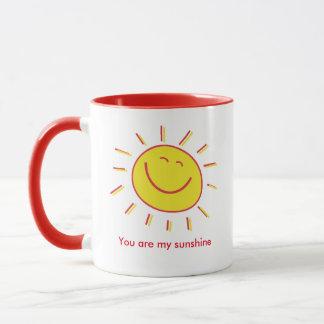 Taza Sunshine - amiga buena