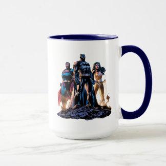 Taza Superhombre, Batman, y trinidad de la Mujer