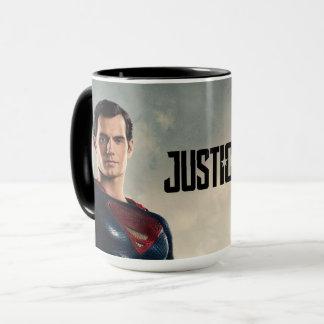 Taza Superhombre de la liga de justicia el | en campo