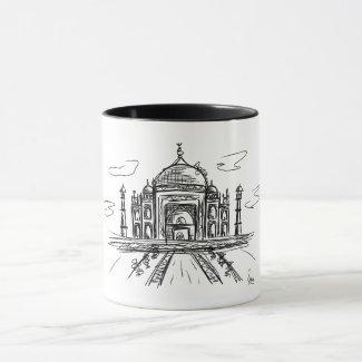 Taza Taj Mahal