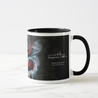 """Taza ¡Taza de café del """"ecocardiograma""""!"""