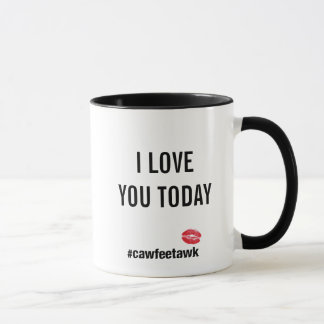Taza Te amo hoy (taza)