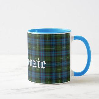 Taza Tela escocesa de tartán escocesa de encargo del