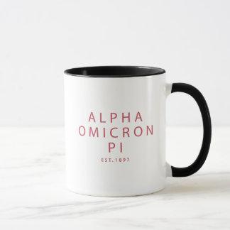 Taza Tipo moderno alfa de Omicron pi