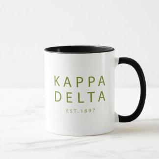 Taza Tipo moderno del delta de Kappa