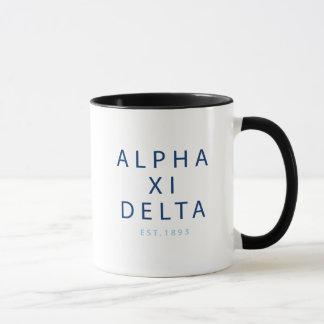 Taza Tipo moderno del delta de la alfa XI