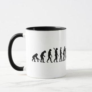 Taza Topógrafo de la evolución
