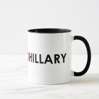 Taza torcida de Hillary