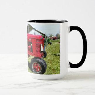 Taza Tractor del rojo de Lil