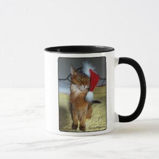Taza traviesa o Niza del gatito de Santa