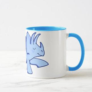 Taza Triceratops azul