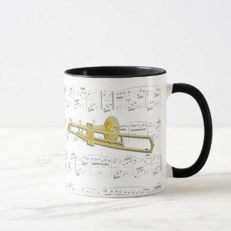Taza - Trombone (valved) con partitura