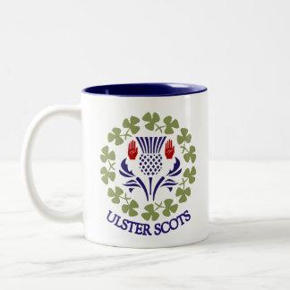 Taza Ulster-Escocesa del cardo y del trébol
