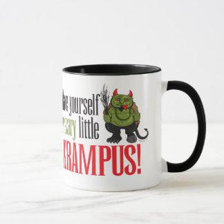 Taza Un pequeño Krampus asustadizo