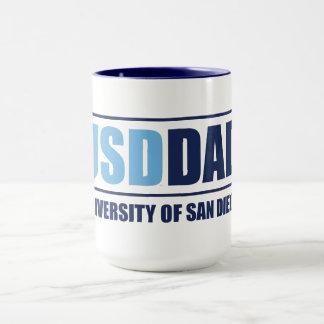 Taza Universidad del papá de San Diego el | USD