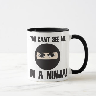 Taza Usted linado ve que yo es un ninja