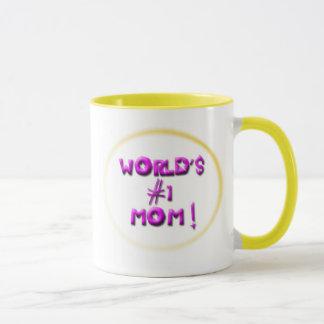 Taza v1 de la mamá del #1 del mundo