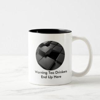 Taza vacía del café