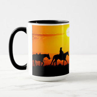 Taza Vaquero-Vaquero-Tejas-occidental-país occidental