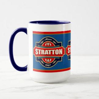 Taza Vieja etiqueta de Stratton