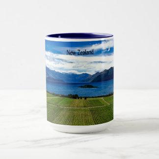 Taza Viñedo de Nueva Zelanda