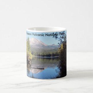 Taza volcánica del parque nacional de Lassen