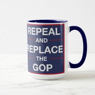 Taza ¡Vote hacia fuera el GOP! ¡Resista!