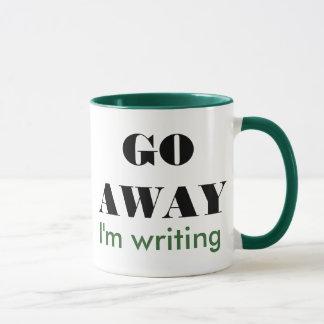 Taza Voy lejos estoy escribiendo