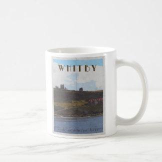 taza whitby del viaje de Yorkshire de la costa