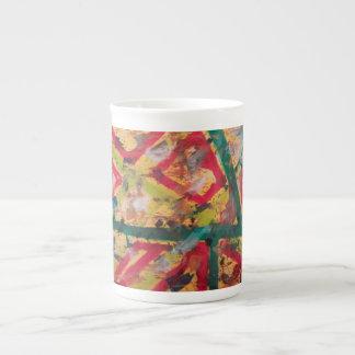 Tazas artísticas de las ideas taza de porcelana