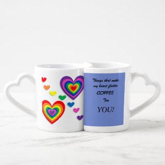 Tazas de café de la jerarquización - usted hace