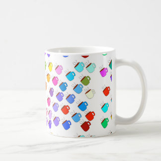 Tazas de café del arco iris