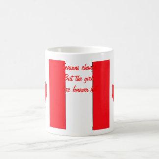 Tazas de café del día de las Canadá-Tarjetas del