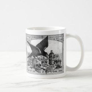 Tazas de café del laboratorio de la alquimia