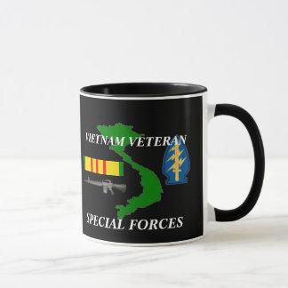 Tazas de café del veterano de Vietnam de las