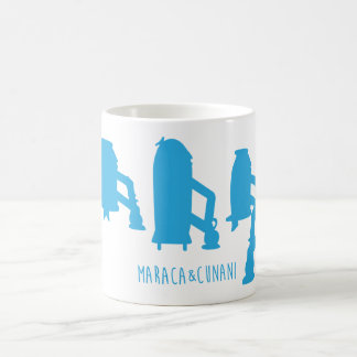 Tazas de café, té, urnas del chocolate caliente