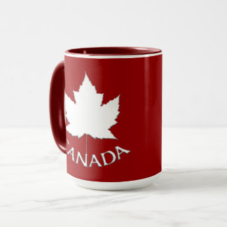 Tazas de encargo de Canadá de la taza de café del