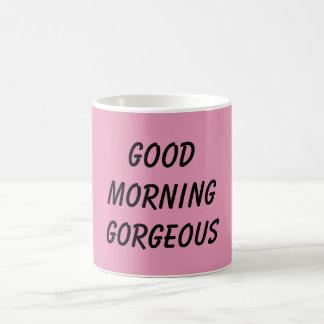 Tazas de la buena mañana