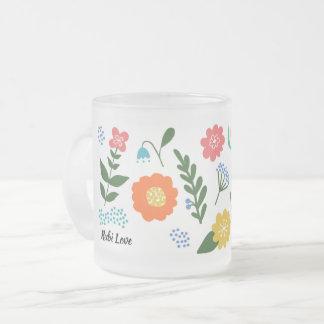 Tazas de la flor de Rubi