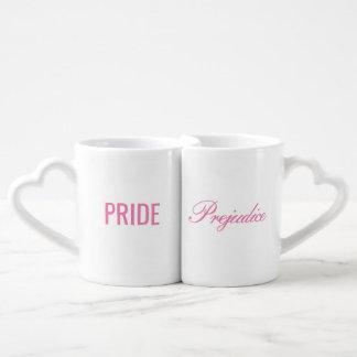 Tazas de la jerarquización del orgullo y del