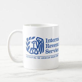 Tazas de la sátira del sueño americano del IRS