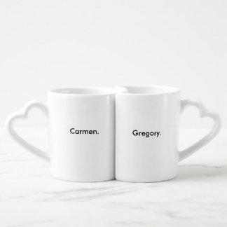 Tazas de los pares tazas para parejas